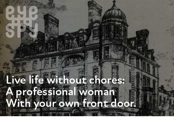 Galen O'Hanlon - At home with the ladies of the Chenies Street Chambers