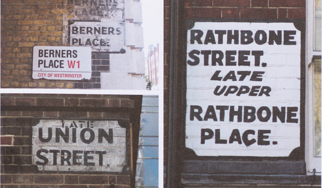 LITERATURE - London Street Signs