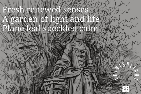 Margaret Kenna - Light, Life and Shade. Musings from the statue in Queen Anne's Square
